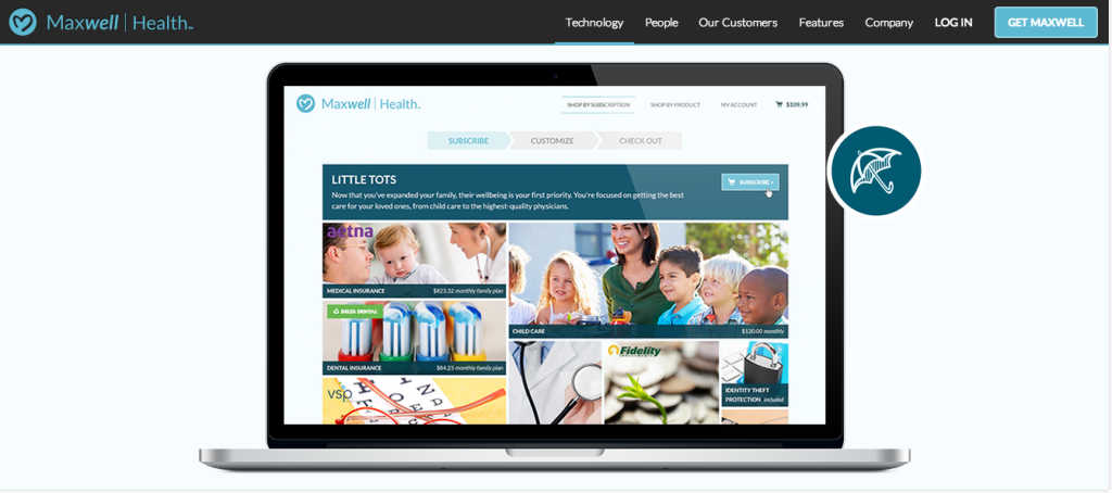 Maxwell Health   The future of benefits  now
