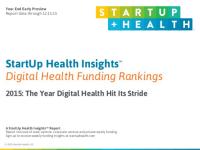 【2015年】デジタルヘルス企業の資金調達額は総額58億ドル
