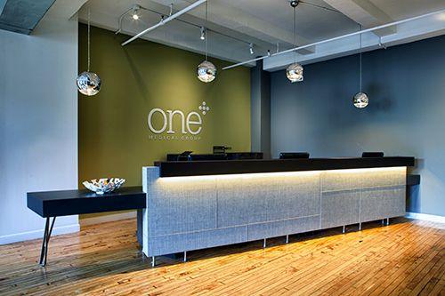 ニューヨークの新店舗のフロント