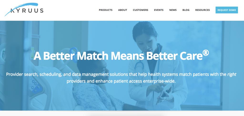 医療機関マッチング・予約ソリューションのKyruus、Salesforceから資金調達