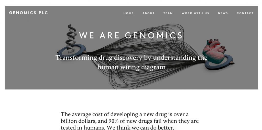 Genomics plc