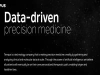 がんのプレシジョン・メディシンを支援するデータプラットフォームのTempus