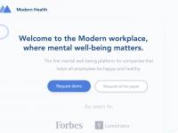 従業員のメンタルヘルスをサポートするModern Health、900万ドル調達