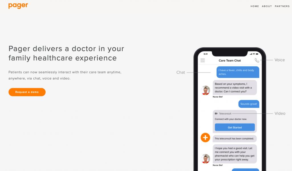 医療機関の予約・決済・医療記録をトータル管理するアプリPager、3300万ドル調達