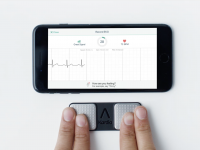 小型のスマート心電図計のAliveCor、6500万ドル調達