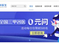 中国の大手オンライン診療サービスMiaoshou Doctor、約4.7億ドル調達