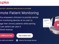 患者の遠隔監視ソリューション100Plusが2,500万ドル調達