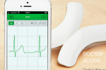 Qardio社のウェアラブルデバイスで自宅にいながら心電図・血圧を測定